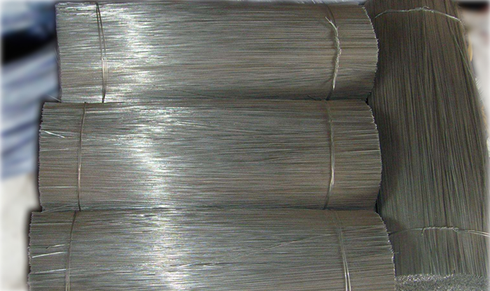 Straight Cut to Length Rebar Binding Wire
